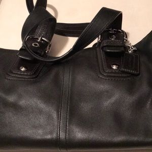 Bag leather coach